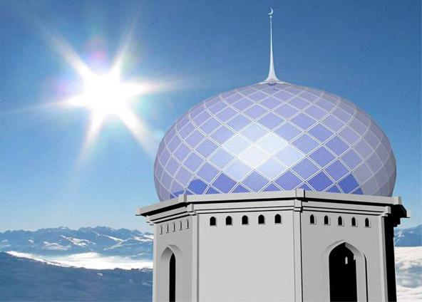 Solar Mosque New Solar Work Christoph Behling Design